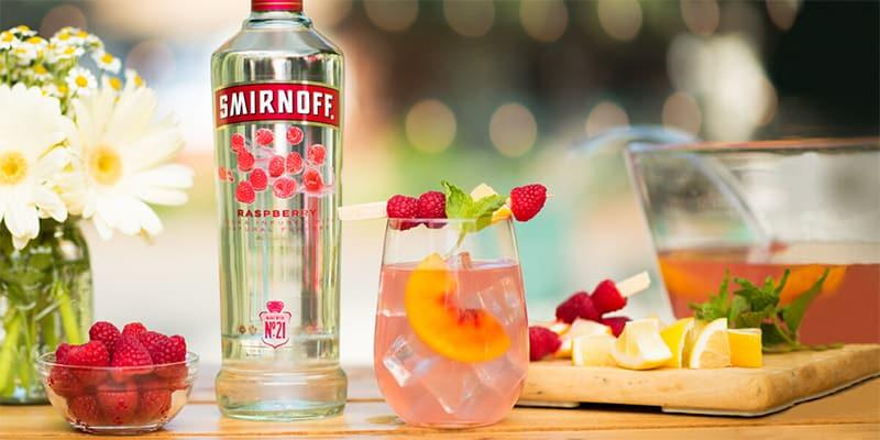 Common Mixed Drinks Recipes With Smirnoff Vodka