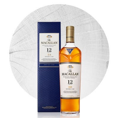 Macallan Whiskey Double Cask