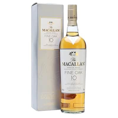 Macallan Whiskey Fine Oak