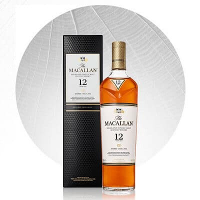 Macallan Whiskey Sherry Oak