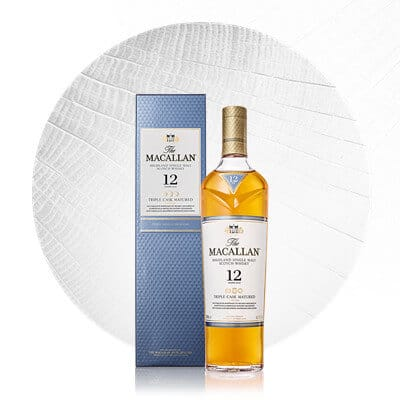 Macallan Whiskey Triple Cask
