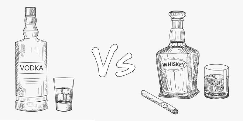 Vodka vs. Whiskey