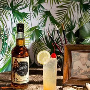 Sailor Jerry Rum Norman Collins Cocktail