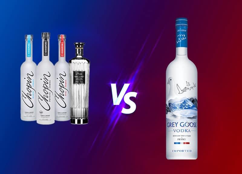 Chopin Vodka vs. Grey Goose