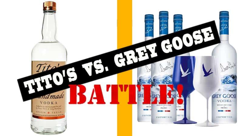 Tito's Vodka vs. Grey Goose