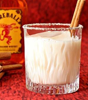 Fireball Whiskey White Russian Recipe