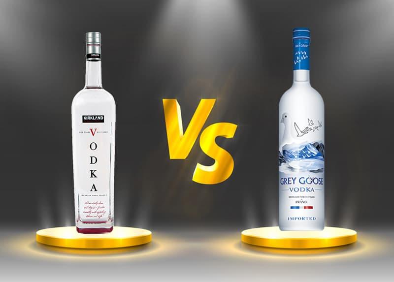 Kirkland Vodka vs. Grey Goose