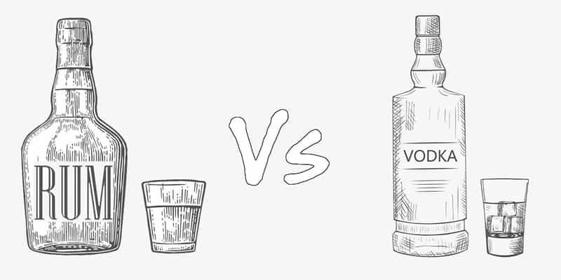 Rum vs. Vodka