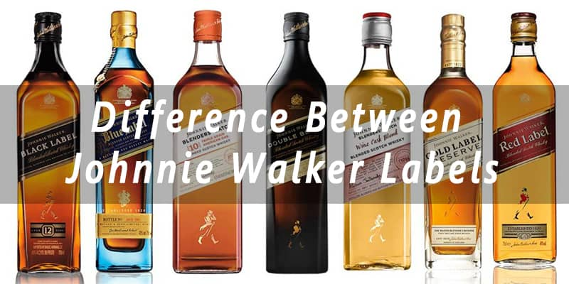 Difference Between Johnnie Walker Labels