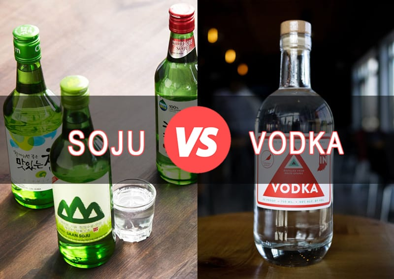 Soju vs. Vodka
