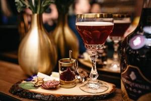 Courvoisier Brandy Midnight in Paris Recipe