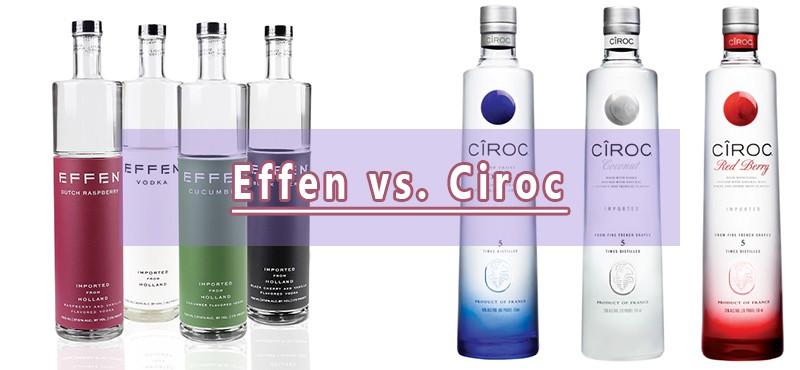Effen Vodka vs. Ciroc