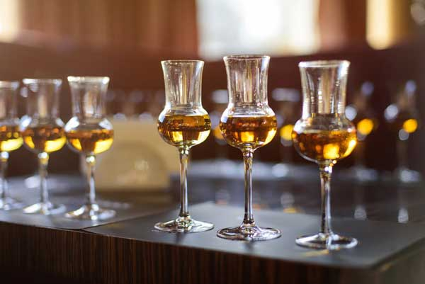 Brandy vs. Whiskey Taste
