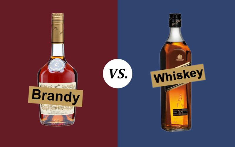 Brandy vs. Whiskey