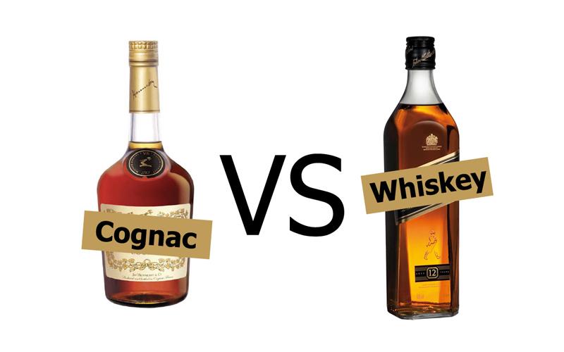 Cognac vs. Whiskey