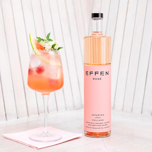 Effen Vodka Rosé and Soda Recipe