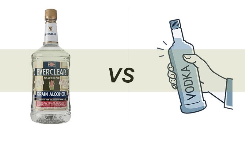 Everclear vs. Vodka