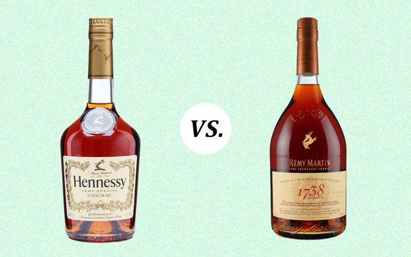 Rémy Martin vs. Hennessy