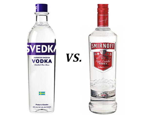 Smirnoff vs. Svedka Price