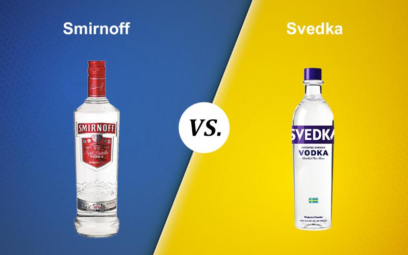 Smirnoff vs. Svedka
