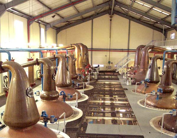 Glenfiddich vs. Glenlivet Distillation Process