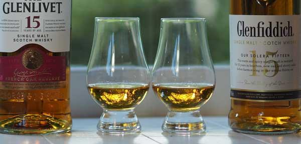 Glenfiddich vs. Glenlivet Alcohol Content