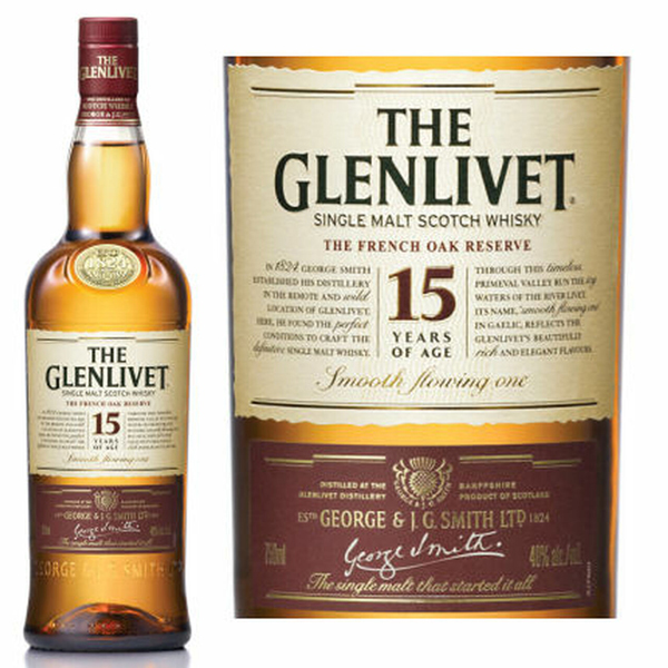 Glenlivet 15 Price