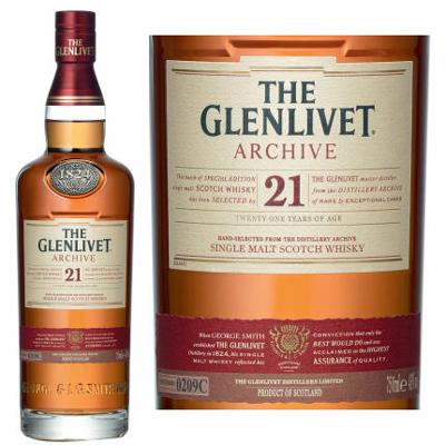 Glenlivet 21 Price