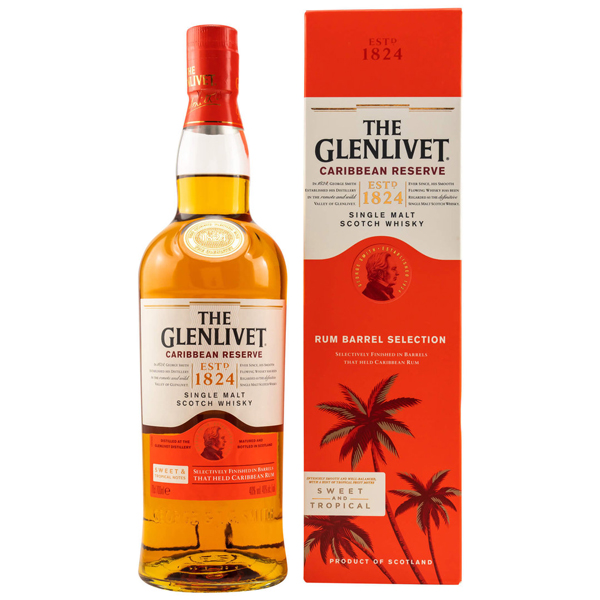 Glenlivet Caribbean Reserve Price