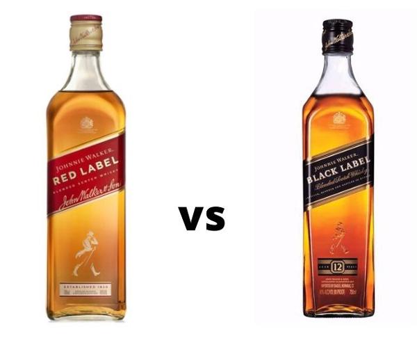 Johnnie Walker Black vs. Red Label Prices