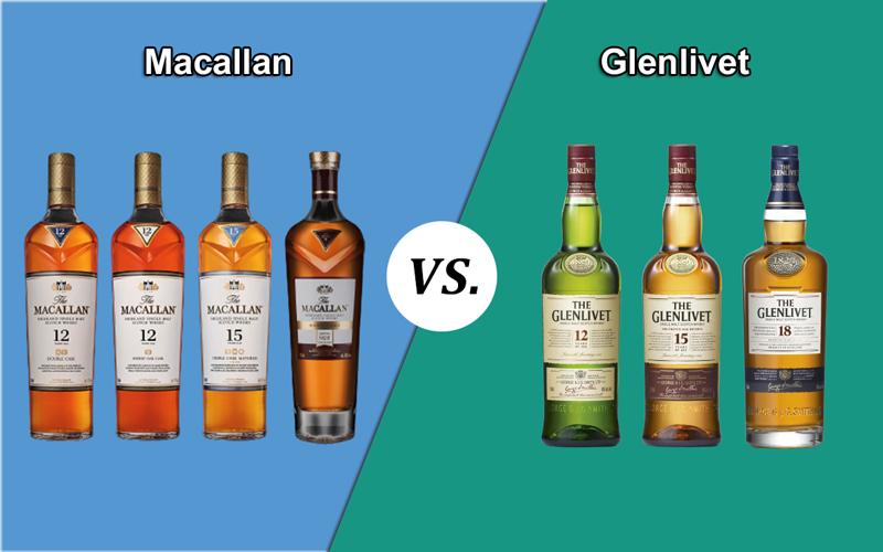 Macallan vs. Glenlivet