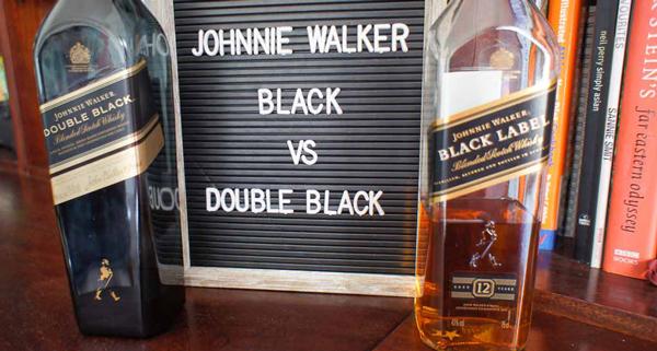 Johnnie Walker Black Label vs. Double Black Label