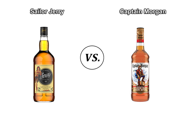 Which Is Better: Sailor Jerry or Captain Morgan?