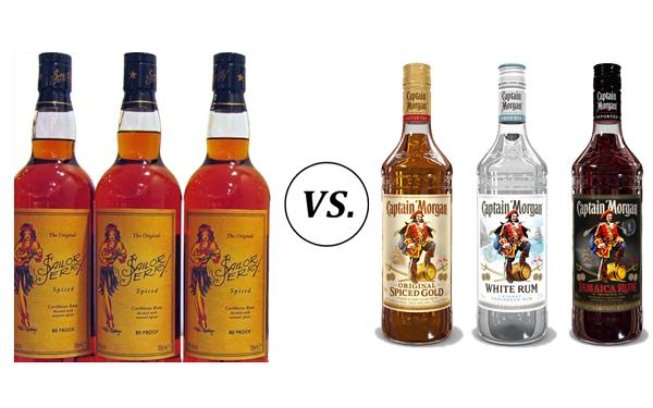 Sailor Jerry vs. Captain Morgan Price