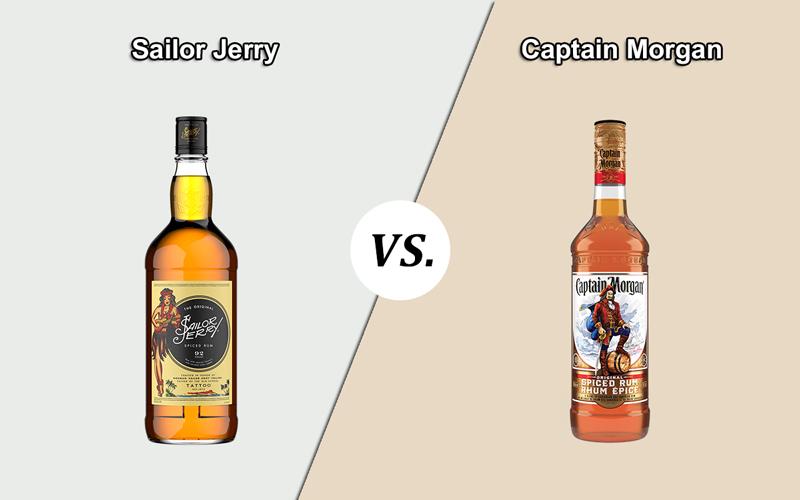 Sailor Jerry vs. Captain Morgan