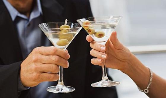 Vodka vs. Gin Martini Taste